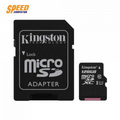 KINGSTON SDCS/128GB CARD MICRO SD 128GB CLASS10 80MB. LIFETIME