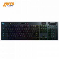 LOGITECH GAMING KEYBOARD G913 LIGHTSPEED WIRELESS RGB MECHANICAL CLICKY