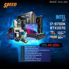INTEL COMSET I7-9700K/ZOTAC RTX2070/16GB BUS2666/SSD512GB+1TB 3.5