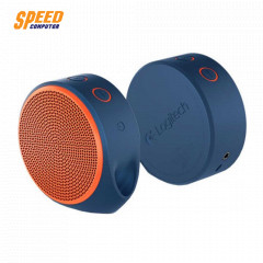 LOGITECH X100 SPEAKER BLUE/ORANGE BLUETOOTH//