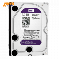 WESTERN HARDDISK PC WD30PURX-3YEAR INTERNAL PURPLE AV 3TB/5400RPM  3.5INC SATA3 FOR CCTV 64MB CACHE 3YEAR