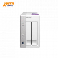 QNAP TS-231P-TH 1G 2-Bay NAS,Annapurna Labs AL314 Quad core 1.7GHz, 1GB DDR3 SODIMM RAM (max 8GB), SATA 6Gb/s,  2x GbE LAN, 3 x USB3.0, HDD hot-swappable 2YEAR