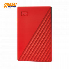 WESTERN HARDDISK EXTERNAL 4TB 2.5 MY PASSPORT WDBPKJ0040BRD-WESN RED USB3.2 GEN1 3YEAR