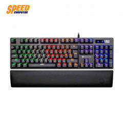 NEOLUTION E-SPORT KEYBOARD MYSTIC PLUS RAINBOW COLORS LED BACKLIGHTING SOFT PU PALM REST BLUE SW THAI