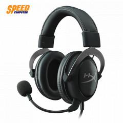 HYPERX GAMING HEADSET CLOUD II GUNMETAL 7.1 SOUND CARD USB & JACK 3.5 MM.
