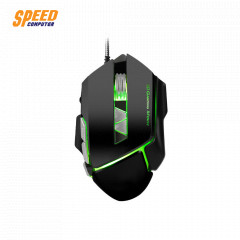NEOLUTION E-SPORT MOUSE A-SERIES ATOMIC BLACK RUBBERIZED 4 LED OPTICAL SENSOR 3200 DPI