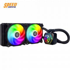 AIO CPU PF240 liquid cooling/ARGB/Dual 120mm PWM fan/ MCT pump/Universal Intel & AMD socket solution