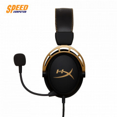 HYPERX GAMING HEADSET CLOUD ALPHA GOLD STEREO JACK 3.5 MM. LIMITED EDITION