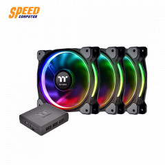 THERMALTAKE COOLING RIING PLUS 12 LED RGB RADIATOR FAN *3