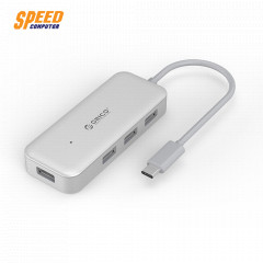 ORICO TC4U U3 HUB Type-C 4 Ports USB 3.0 HUBInput Interface:Type-COutput Interface:Type-A USB3.0*4USB Speed:5Gbps