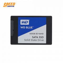 WESTERN HARDDISK SSD BLUE WDS500G2B0A-00SM50 500GB 2.5INC 7MM SATA 3 (6GB/S) READ 560MB/s WRITE 530MB/s
