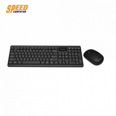 PHILIPS KEYBOARD & MOUSE WIRELESS COMBO SPT6314 BLACK