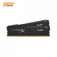 KINGSTON RAM PC HX424C15FB3K2/16 DDR4 16GB BUS:2400MHz CL15 DIMM HYPER FURY BLACK (8X2)