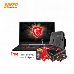 MSI GE75 RAIDER 10SGS-045TH  i9-10980HK+HM470/ DDR IV 32GB (16GB*2 2666MHz)/1TB NVMe PCIe Gen3x4 SSD/RTX2080 Super, GDDR6 8GB/17.3 FHD (1920*1080)/Air Gaming Backpack/Win10/2 Year