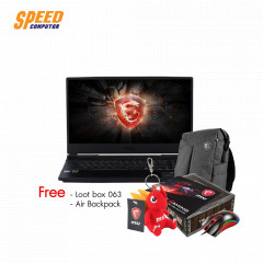 MSI GL65 9SDK-072THD NOTEBOOK i7-9750H/RAM 16GB(8*2) 2666MHz/HDD 512GB NVMe/GTX 1660 TI 6 GB/15.6 FHD IPS 120Hz/WINDOWS 10/BLACK