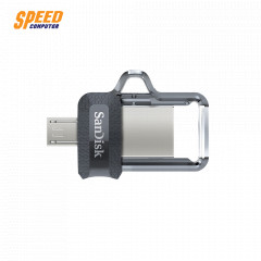 SANDISK SDDD3-256G-G46 FLASHDRIVE OTG 256GB USB3.0 BLACK DUAL COM & ANDROID ULTRA  SPEED UP TO 150MB