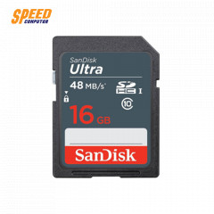 SANDISK SDSDUNB-016G-GN3IN CARD SD 16GB CLASS10 48MB/S 320X, UHS-I, U1,7YEARS
