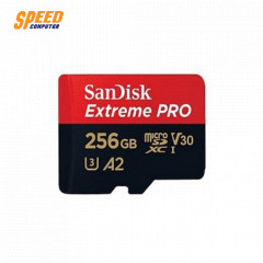 SANDISK SDSQXCZ_256G_GN6MA CARD MICRO SD 256GB Extreme Pro V30, U3, C10, A2, UHS-I, 170MB/s R, 90MB/s W, 4x6, SD adaptor, Lifetime Limited