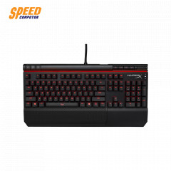 HYPERX GAMING KEYBOARD ALLOY ELITE SC MECHANICAL GAMING RED LED CHREEY BLUE SW US