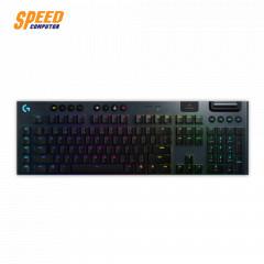 LOGITECH GAMING KEYBOARD G913 LIGHTSPEED WIRELESS RGB MECHANICAL TACTILE