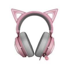 RAZER HEADSET KRAKEN KITTY QUARTZ