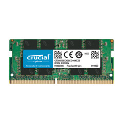 CRUCIAL RAM NOTEBOOK 8GB BUS3200 DDR4 8*1 CL22