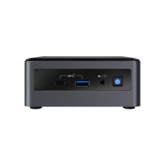INTEL BXNUC10I7FNHJA1 MINI PC  Core i7-10710U(1.1 GHz up to 4.7/6C/12T)8GB DDR4-2666 (Up to 64GB)/1 TB HDD / 16 GB Intel Optane Memory/OS Windows 10 Home/Wi-Fi 6 (802.11ax) | Bluetooth