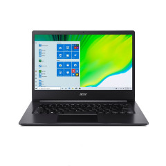 ACER A314-22-R8LV NOTEBOOK RYZEN3 3250U/RAM 4GB/SSD 512GB/AMD HD GRAPHICS/14.0 FHD/WINDOWS10/BLACK/backpack