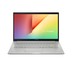 ASUS S413FQ-EB046TS NOTEBOOK I5-10210U/DDR4 8G[ON BD.]/512G PCIE G3X2 SSD/MX350 2GB/14 FHD WV,250NITS,NTSC:45%-NB/WIFI6(GIG+)(11AX)2*2/Win10/Backlight KB/BACKPACK/Office H&S/TRANSPARENT SILVER