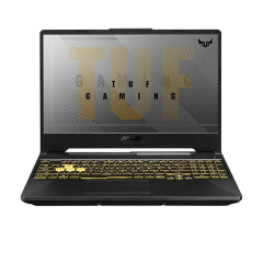 ASUS FA506II-AL012T-TUF NOTEBOOK R5-4600H/DDR4 3200 8GB/512G PCIE/GTX1650TI DDR6 4G/Win10+MCAFEE 1YR/144Hz/RGB KB/backpack outside/Fortress Gray