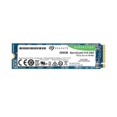 SEAGATE HARDDISK SSD BARRACUDA 510 256GB M.2 PCIE NVME GEN3