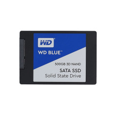 WD SSD BLUE WDS500G2B0A-00SM50 500GB 2.5INC 7MM SATA 3 (6GB/S) READ 560MB/s WRITE 530MB/s 5Y