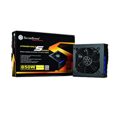 SilverStone 850W Strider 80+ Gold Power Supply, Fully Modular