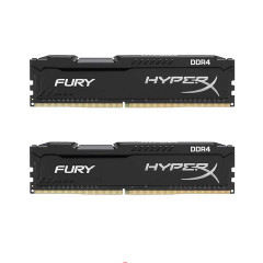 KINGSTON RAM PC HYPERX 16GB BUS2666 BLACK RGB 8*2