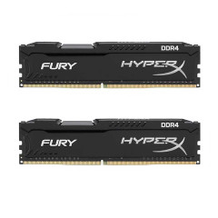 KINGSTON RAM PC HYPERX 16GB BUS2666 DDR4 BLACK 8*2