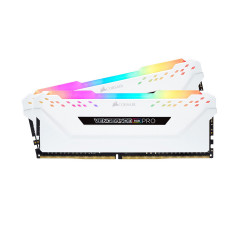 CORSAIR RAM PC VENGEANCE RGB PRO 32GB BUS3000 16*2 WHITE