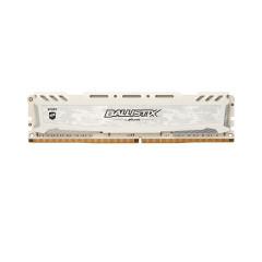 CRUCIAL BLS8G4D240FSC BALLISTIX RAM PC DDR4 8GB BUS:2400MHz UDIMM 1.2V FOR GAMING WHITE COLOR