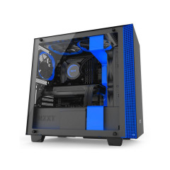 NZXT CASE H400i BLACK/BLUE