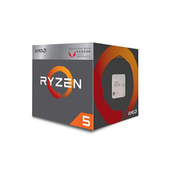 AMD CPU RYZEN 5 3400G 4CORE,8THREAD 4.2GHz