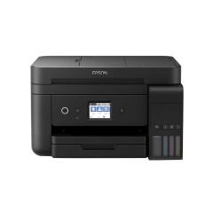 EPSON L6190 PRINTER Print,Scan,Copy, FAX, ADF Tank (4 colors), A4 (4800*1200 dpi) , พิมพ์ไร้ขอบได้,Duplex,Wi-Fi, Wifi Direct,2 Year or 50,000 แผ่น