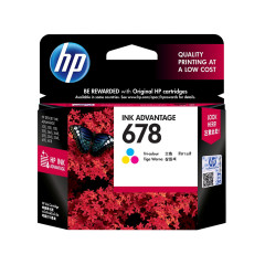 HP 678 TRI-COLOR INK CARTRIDGE CZ108AA