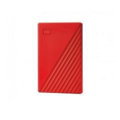WESTERNDIGITAL HARDDISK EXTERNAL 1TB RED  2.5 WD MY PASSPORT WDBYVG0010BRD 3 YEAR