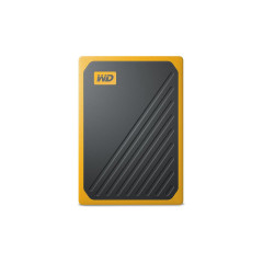 WESTERNDIGITAL WDBMCG5000AYT-WESN BLACK-YELLOW HDD EXTERNAL GO PORTTABLE SSD 500 GB USB 3.0 400MB/s 3YESRS