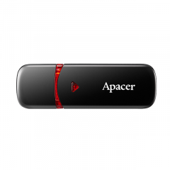 APACER AH333 FLASHDRIVE 16GB BLACK USB2.0 LIFTIME