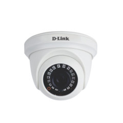 D-LINK DCS-F1612 CAMERA CCTV 2MP Fixed Dome HD Cameras Full HD 1080P Support AHD/ TVI/ CVI/ CVBS Output (OSD)