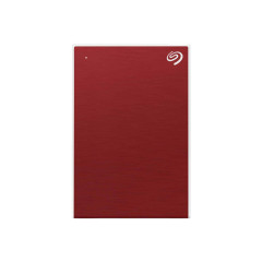SEAGATE HARDDISK EXTERNAL STHP4000403 4TB  BACKUP PLUS PORTABLE RED SB 3.0 3YEAR