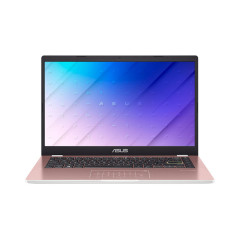 ASUS E410MA-EK309T NOTEBOOK INTEL N5030/DDR4 4G[ON BD.]/512G PCIE G3X2 SSD/BAG/NUMPAD/FHD TN/ROSE PINK