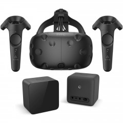HTC VIVE SET1 CONTROLLER VR GLASSES 2 SENSOR 2