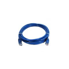 LINK  US-5010-4 LAN LINK CABLE  CAT5E  3 M. BLUE