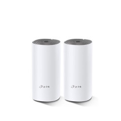 TPLINK DECO-E4 PACK2 WHOLE HOME MESH WIFI AC1200 DUAL BRAND WIFI